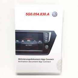 Licence-vw-5g0054830A