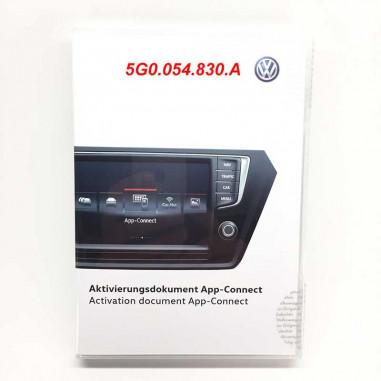 Licence-vw-5g0054830A